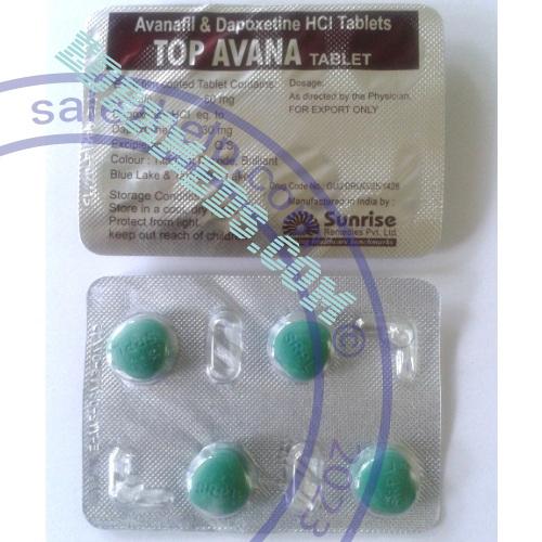 Top Avana (avanafil + dapoxetine)