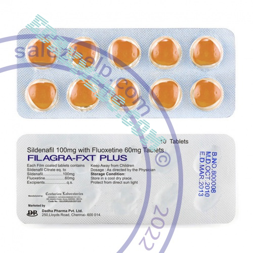 Viagra Super Fluox-force (sildenafil citrate + fluoxetine)
